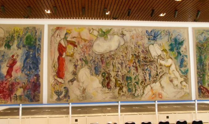 Marc Chagall: Vergangenheit, Gegenwart und Zukunft